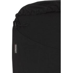 Cocoon MummyLiner Inlet Merino Wool, black